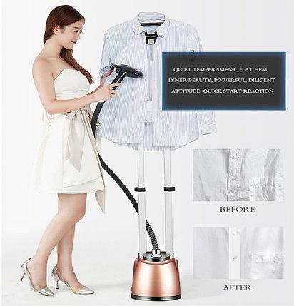 Новый дизайн 2000 Вт портативный удобный отпариватель одежды, фото 2
