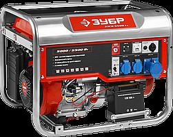Генератор бензиновый ЗЭСБ-5500-ЭА серия «МАСТЕР»