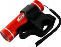 Велосипедный светодиодный фонарь SOLARIS T-5V красный (3109red)