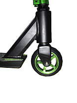 Трюковый самокат SHOW SCOOTER Black-Green (BenTen) доставка, фото 3