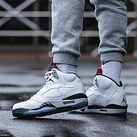Air Jordan 5 (V) White Cement
