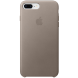 Чехол Apple iPhone 8 Plus / 7 Plus Leather Case - Taupe (MQHJ2ZM/A)