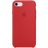 Чехол Apple iPhone 8 / 7 Silicone Case - (PRODUCT) RED (MQGP2ZM/A)