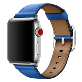 38mm Electric Blue Classic Buckle