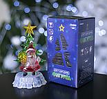 """Игрушка световая """"Дед мороз под елкой"""" (батарейки в комплекте) 1 LED, RGB , фото 3"""