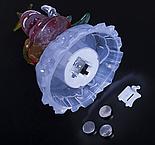 """Игрушка световая """"Дед мороз под елкой"""" (батарейки в комплекте) 1 LED, RGB , фото 4"""