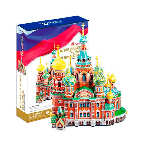 Игрушка Собор Воскресения Христова (Россия) - 3D Пазлы (Конструкторы)
