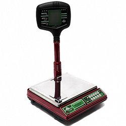 Весы электронные ВЭУ-15-1/2/5-А/#00/51(440х310х550 мм, платф230х270м,с табло на стойке, до15кг)(РАСП)