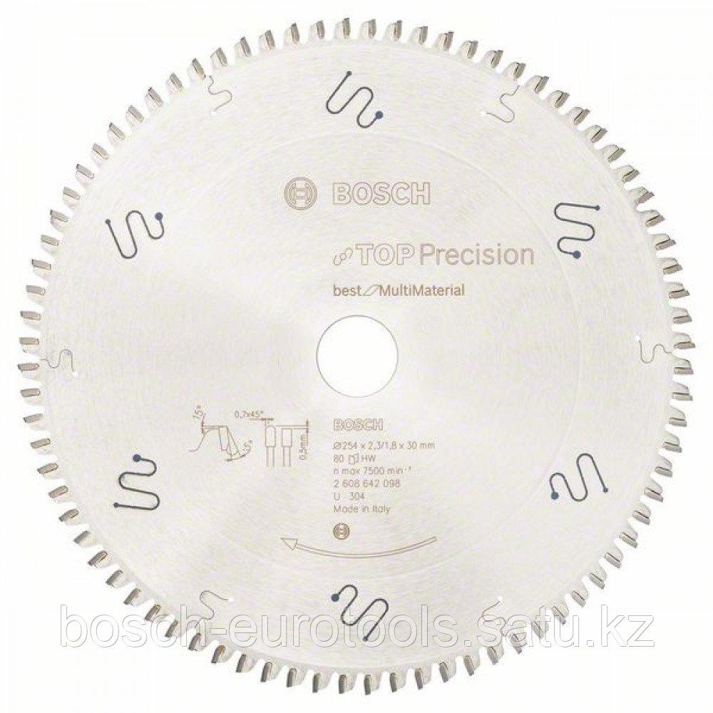 Пильный диск Top Precision Best for Multi Material 254 x 30 x 2,3 mm, 80 в Казахстане