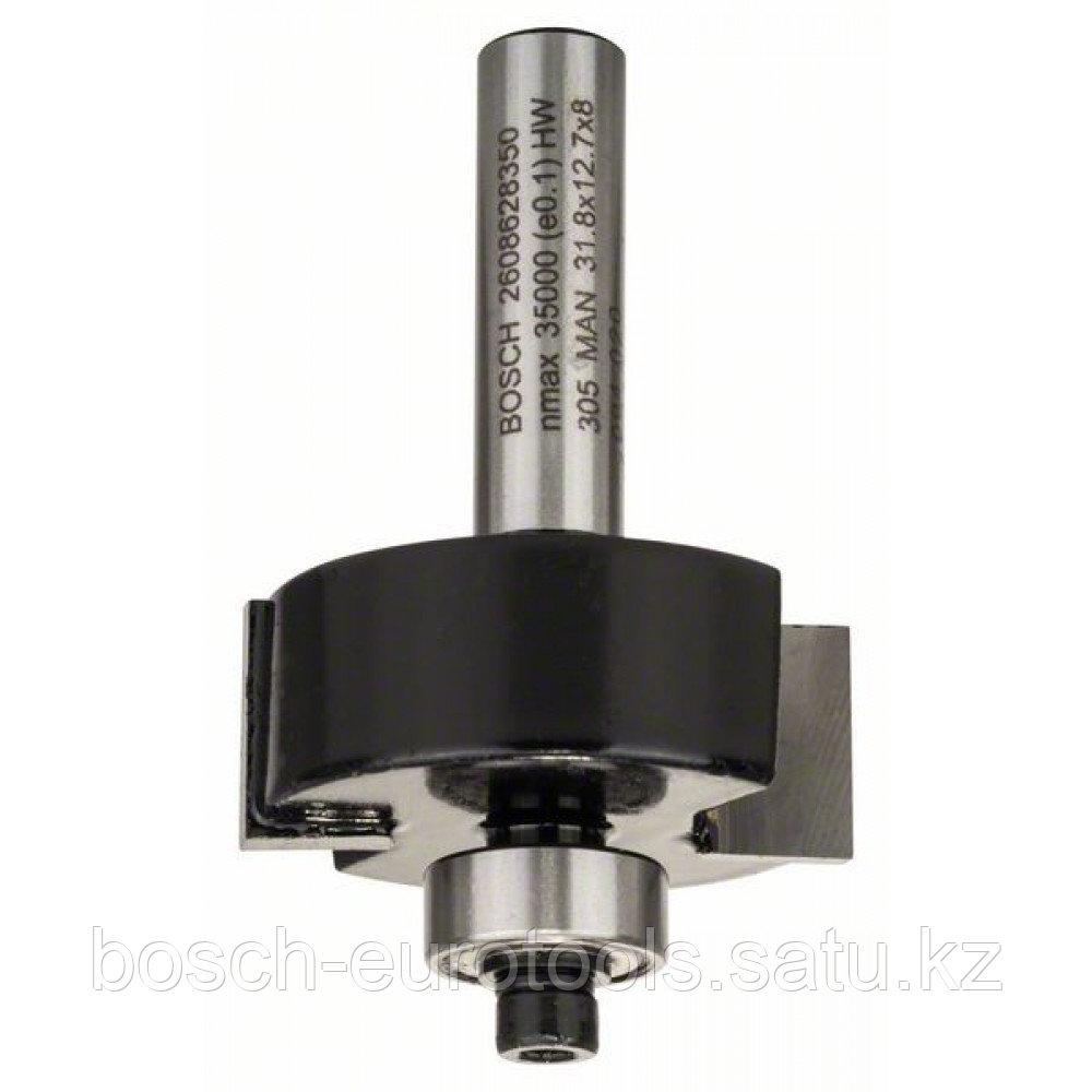Фреза для выборки паза 8 mm, B 9,5 mm, D 31,8 mm, L 12,5 mm, G 54 mm в Казахстане