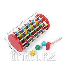 Деревянная игрушка стучалка - Серпантин, фото 3