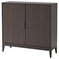 Шкаф РЕЖИССЁР коричневый ИКЕА, IKEA, фото 1
