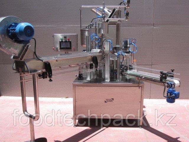 Оборудование для розлива молока, соков, напитков в ПЭТ бутылки.