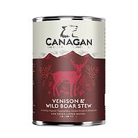 CANAGAN полнорационный влажный корм для собак, рагу из оленины и дикого кабана 400г , фото 1