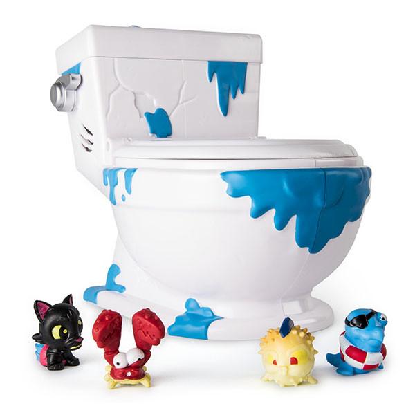 Игрушка Flush Force туалет-коллектор