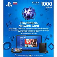 Карта оплат PS3, PS4 Playstation Network Card 1000 RR