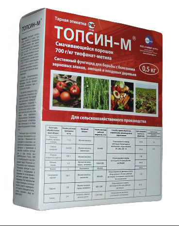 Топсин-М тиофанат метил (700 г/кг)