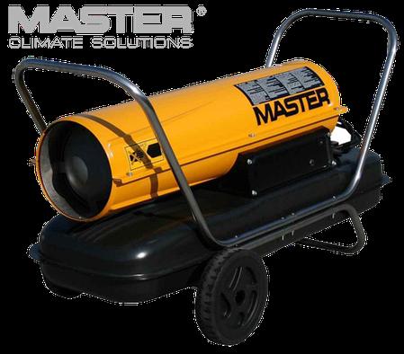 Дизельная тепловая пушка Master: B 150 CED - 900 м³/ч (с прямым нагревом), фото 2