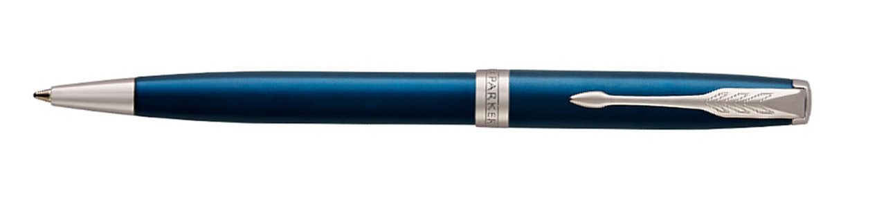 Ручка шариковая ESSENTIAL Sonnet Laque Blue CT PARKER 1931536