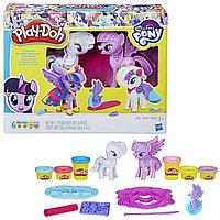 Игрушка Hasbro Play-Doh (Плей-До) Игровой набор «Твайлайт и Рарити