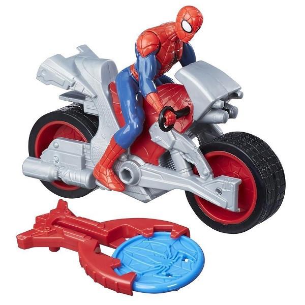 Игрушка Hasbro Человек-Паук (Spiderman) фигуркиЧЕЛОВЕК-ПАУК и стартер