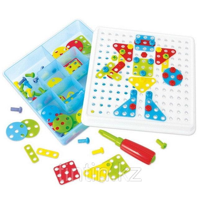 Детская болтовая мозаика 180 деталей