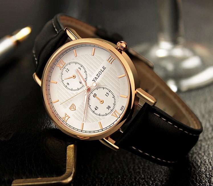 Классические часы Yazole 355
