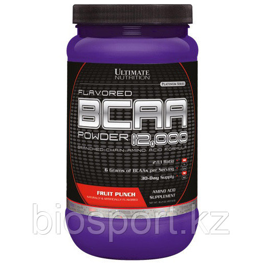 Ultimate Nutrition BCAA 12000 - 457 грамм