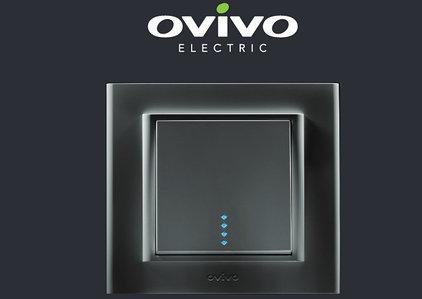 Выключатели и розетки Ovivo (турция)