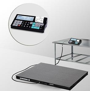 Весы платформенные с печатью чеков 4D-PM-3_RC, фото 2
