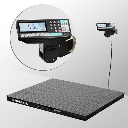 Весы платформенные с печатью этикеток 4D-PM-7-3000-RP, фото 2