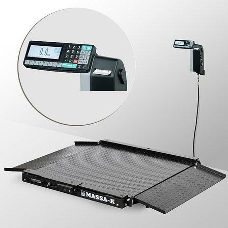 Весы низкопрофильные с печатью этикеток 4D-LA-4_RL, фото 2