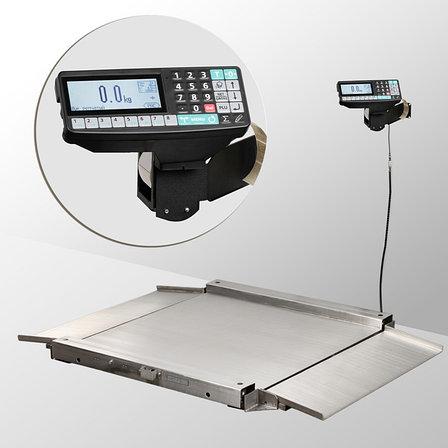 Весы низкопрофильные с печатью этикеток 4D-LA.S-4_RP, фото 2
