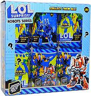 J 03 LOL Surpries Robots Series Трансформер ЛОЛ из 6шт цена за 1 шт 16*11см(реплика,аналог)  LOL/18, фото 1