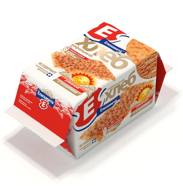 Хлебцы хрустящие «Вафельный хлеб «Елизавета» ржаной с отрубями