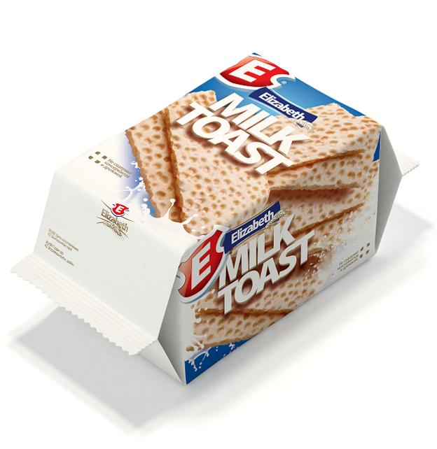 Вафли сдобные с молоком «Milk Toast»