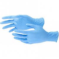 Перчатки хозяйственные, нитриловые 100 шт, S Elfe