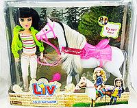 Кукла Liv Real Life Livin our World Реальная жизнь с лошадкой (музыкальная), фото 1