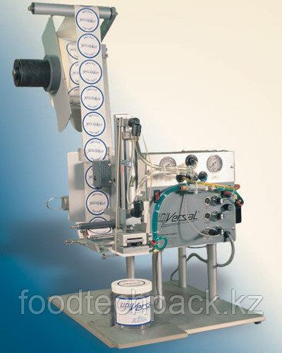 Полуавтоматический и автоматический аппликатор для нанесения самоклеящихся этикеток на продукцию нестандартной