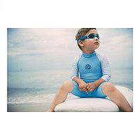 Солнцезащитный комбинезон голубой , фото 1