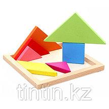 Головоломка - Танграм (18х18 см), фото 3