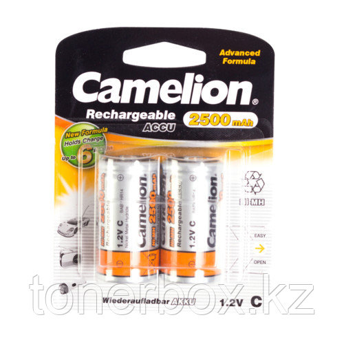 Батарейка CAMELION Rechargeable Ni-MH NH-C2500BP2