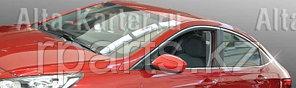 Молдинги стекол  верхние и нижние Hyundai Accent / Хенде Акцент