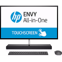 "Моноблок HP ENVY 27-b150ur (27 "", Core i5, 7400T, 2.4 ГГц, 16 Гб, HDD и SSD, 1 Тб, 128 Гб)"