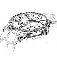 Наручные часы.