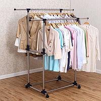 Вешалка напольная для одежды гардеробная, YOULITE YLT-0302D