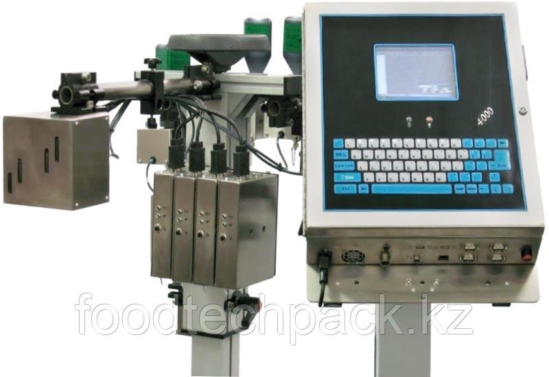Струйные принтеры  для печати штрих-кодов, текста, графики и другой переменной информации, общей высотой до 70