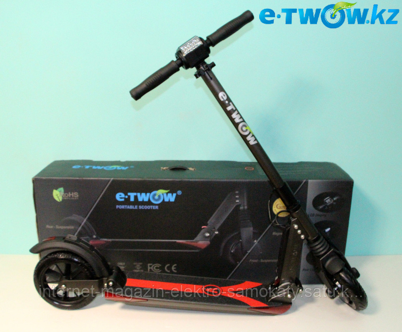 Электросамокат E-twow S2 Booster Plus V 500W 36V 10.5Ah 378Wh Li-ion Grey