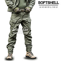 """Брюки SoftShell """"DIVISION"""" OLIVE S"""