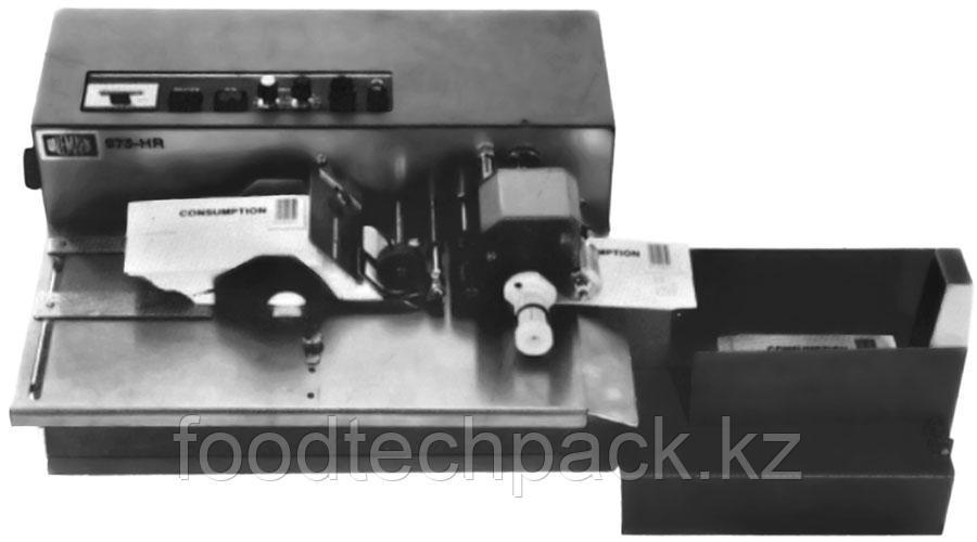 Автоматический настольный принтер для маркировки плоских изделий (карточек, этикеток, конвертов в т.ч. пластик